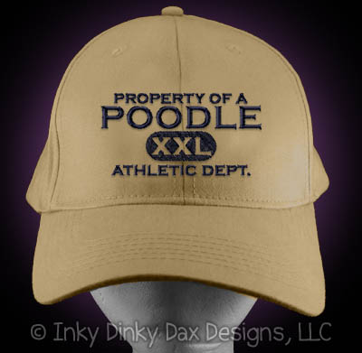 Embroidered Poodle Hat