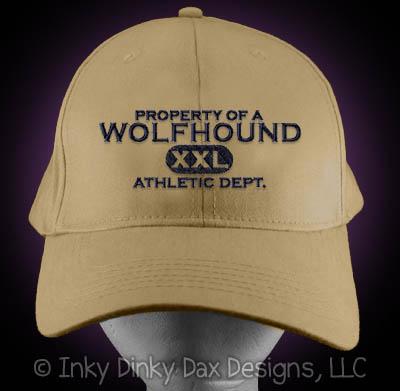 Embroidered Irish Wolfhound Hat