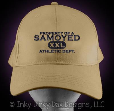 Embroidered Samoyed Hat