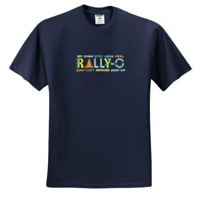 Cool Embroidered Rally-O TShirt
