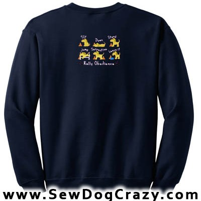 Embroidered Rally O Sweatshirt