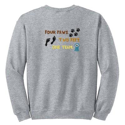 One Team Embroidered Sweatshirt