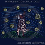 Starry Nights Cattle Dog Apparel