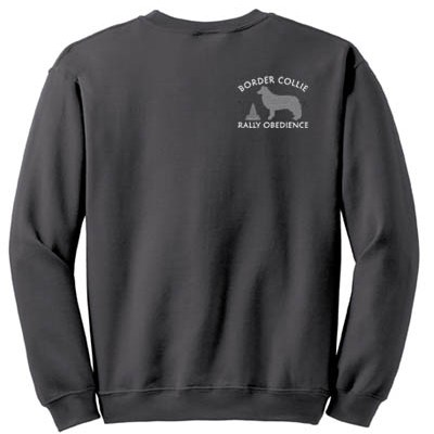 Embroidered Rally Obedience Border Collie Apparel