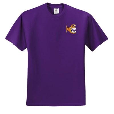 Cartoon Angler Fish T-shirt