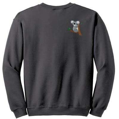 Embroidered Koala Sweatshirt