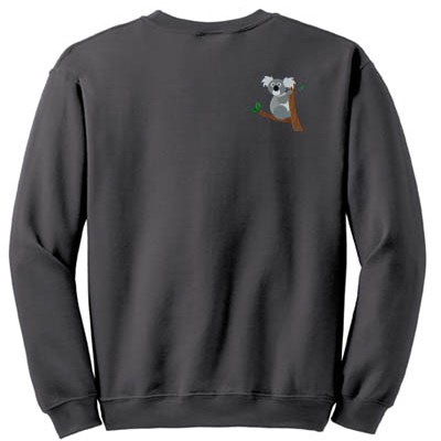 Embroidered Koala Sweatshirt