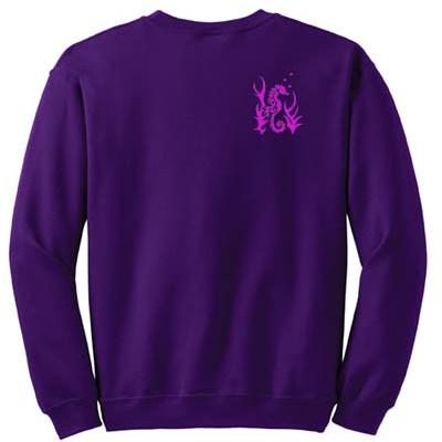Embroidered Seahorse Sweatshirt