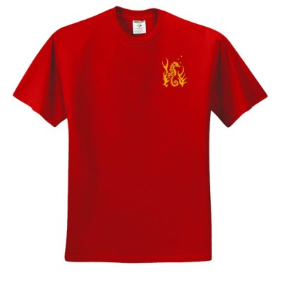 Embroidered Seahorse T-Shirt