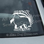 Awesome Sheltie Vinyl Decals
