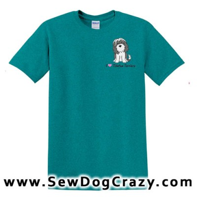 Cartoon Tibetan Terrier Tshirt