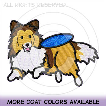 Disc Dog Shetland Sheepdog Shirts