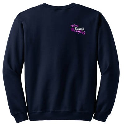 Embroidered Basenji Sweatshirt
