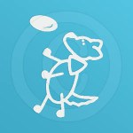 Flying Disc Dog Decals