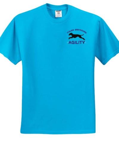 Agility Italian Greyhound T-Shirt