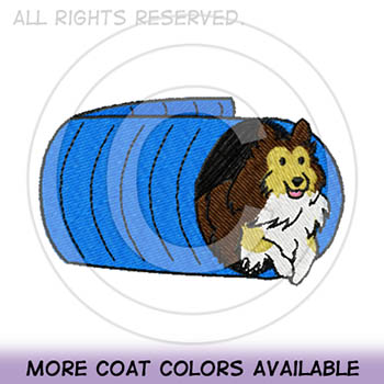 Cartoon Sheltie Agility Shirts