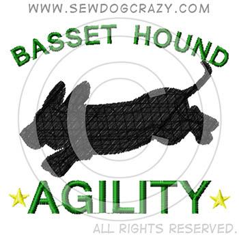 Basset Hound Agility Shirts