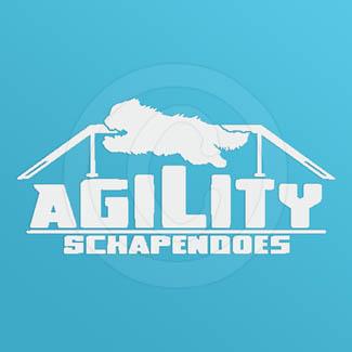 Schapendoes Agility Decals
