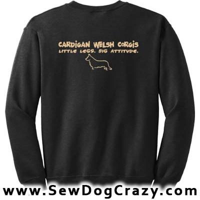 Funny Cardigan Welsh Corgi Sweatshirts