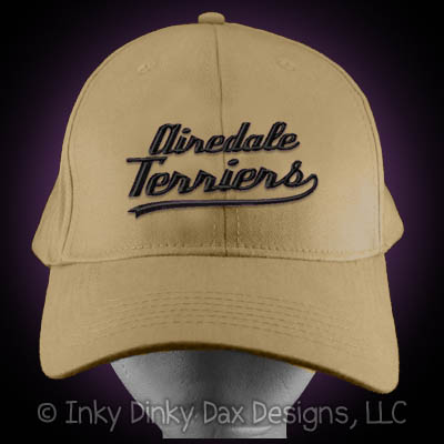 Baseball Airedale Terrier Hat