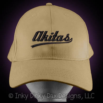 Baseball Akitas Hat