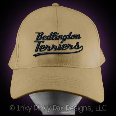 Baseball Bedlington Terrier Hat