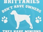 Funny Brittany Spaniel Stickers