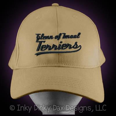 Baseball Glenn of Imaal Terrier Hat