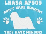 Funny Lhasa Apso Stickers