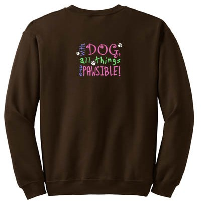Awesome Dog Lover Sweatshirt