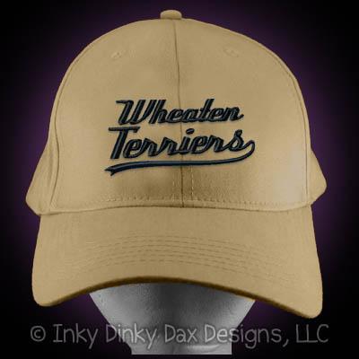 Baseball Wheaten Terrier Hat