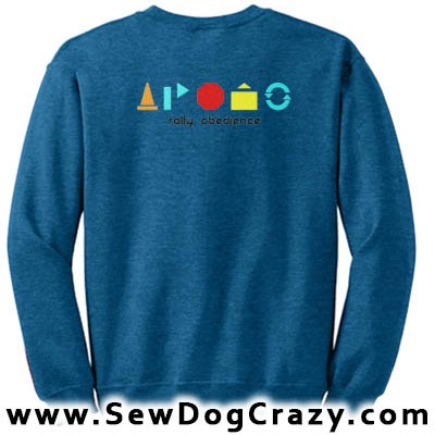 Simple Rally Obedience Sweatshirt