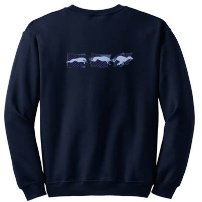Awesome Greyhound Embroidered Sweatshirt
