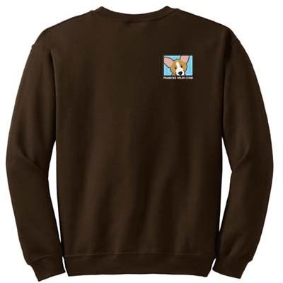 Embroidered Corgi Shirt