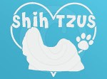 I Love Shih Tzus Decal