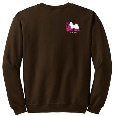 Embroidered Shih Tzu Sweatshirt