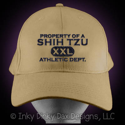 Embroidered Shih Tzu Hat