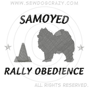 Samoyed Rally Obedience Shirts