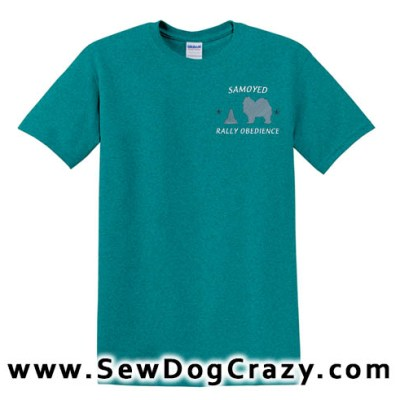 Samoyed Rally Obedience TShirt