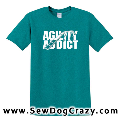 Dog Walk Agility Addict Tee