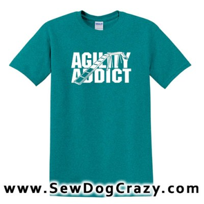 Dog Walk Agility Addict Tee