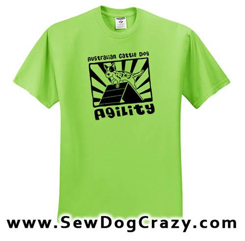 Cattle Dog Agility TShirt