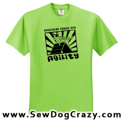 Cattle Dog Agility TShirt
