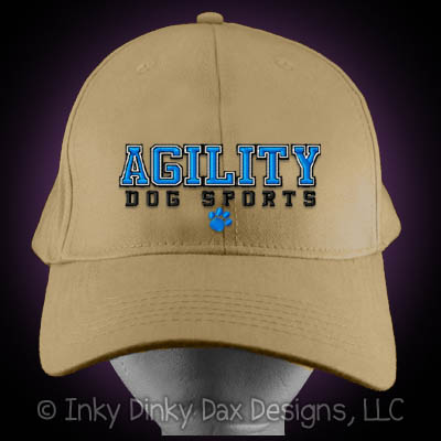 Cool Embroidered Dog Agility Hat