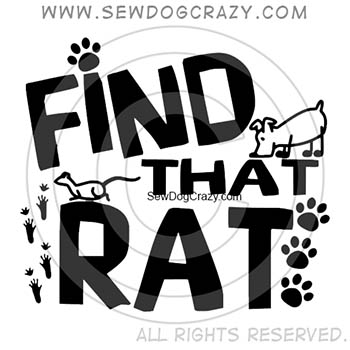 Find That Rat Barn Hunt Shirts