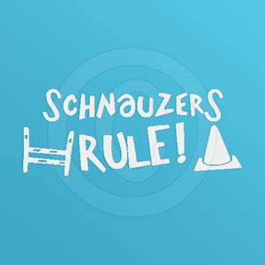 Schnauzers Rule Decal