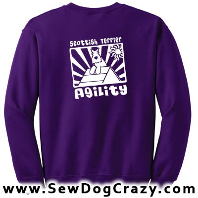 Scottie Agility A-Frame Sweatshirt