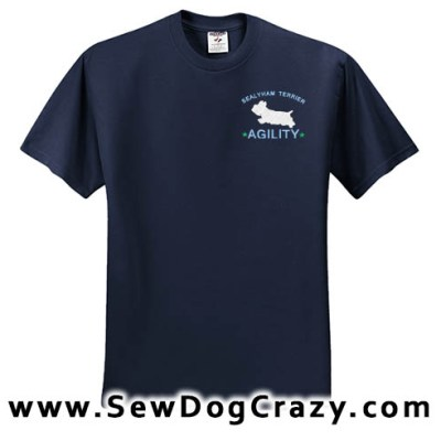 Sealyham Terrier Agility Tshirt