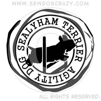 Sealyham Terrier Agility Dog Shirts