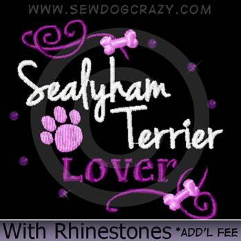Rhinestones Sealyham Terrier Shirts